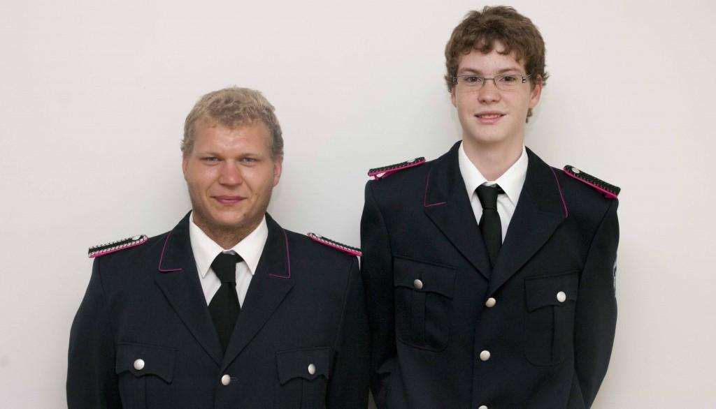 Stefan Koppelmann (li) und Marvin Harders